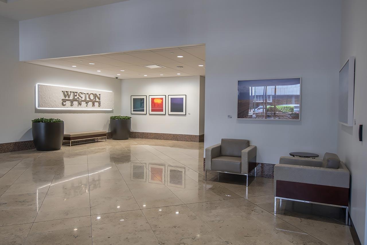 Weston Center Lobby Metropolitan Contracting
