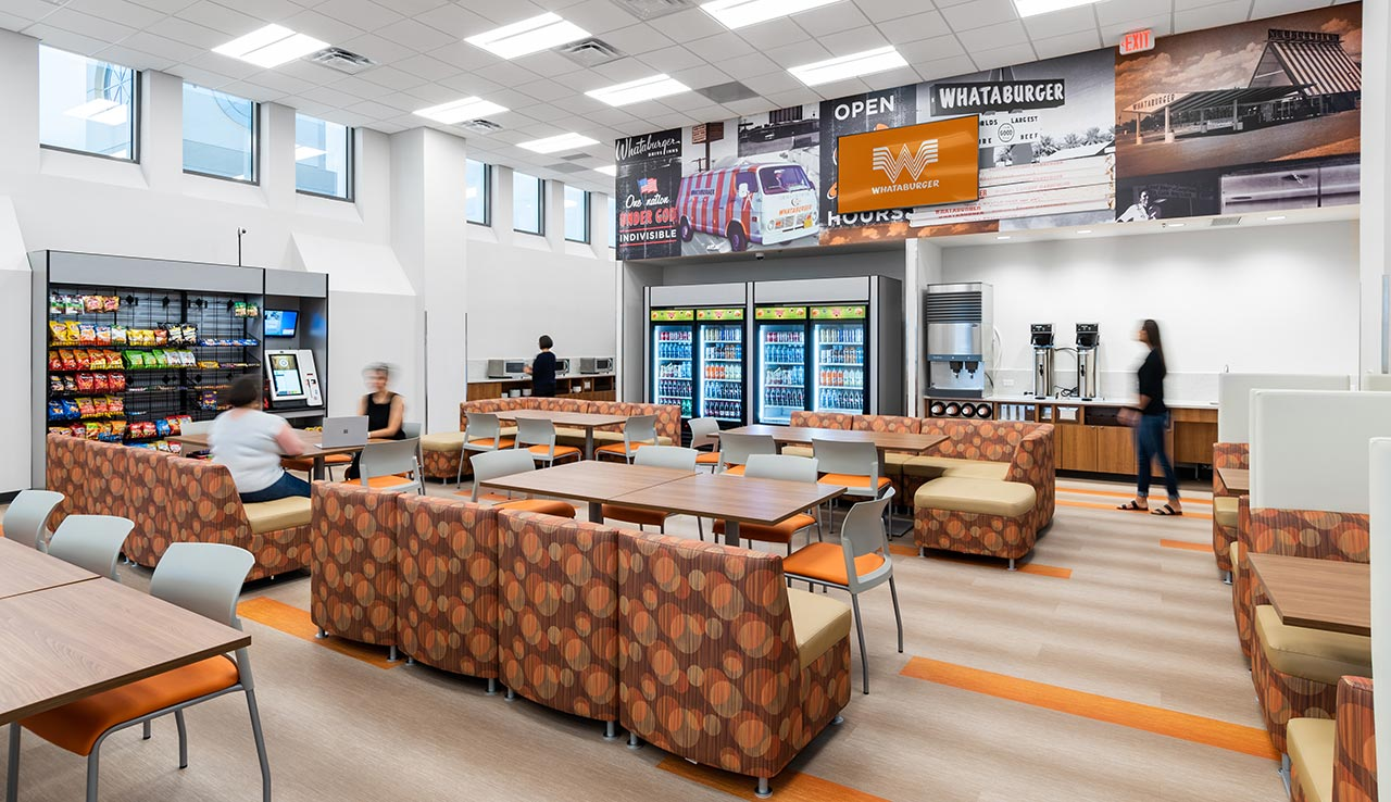 Whataburger Headquarters Finish Out Metropolitan Contracting
